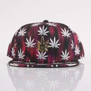 Cayler & Sons cap snapback Best Budz red sky / white / gold (GL-CAY-AW15-22-OS)
