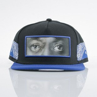 Cayler & Sons cap snapback Eyes On Me black / royal / orange (WL-CAY-AW15-19-02-OS)
