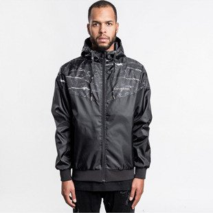 Cayler & Sons  jacket Infinity Windbreaker black marble / gold WL-CAY-AW16-AP-02-03