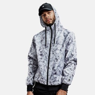 Cayler & Sons  jacket Infinity Windbreaker white marble / black WL-CAY-AW16-AP-02-02