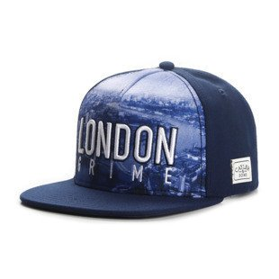 Cayler & Sons snapback London Skyline Cap navy / white WL-CAY-AW16-11
