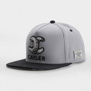Cayler & Sons snapback Still No.1 Classic Cap grey / black / white CLASSIC-CAY-AW-16-01
