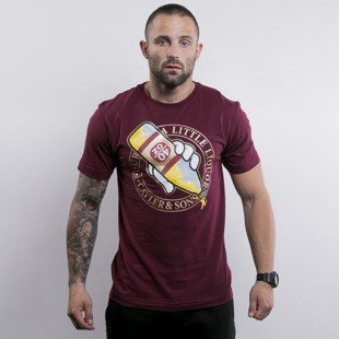 Cayler & Sons t-shirt 40 OZ maroon / mc (WL-CAY-AW15-AP-18)
