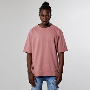 Cayler & Sons t-shirt Black Label Twoface Long Tee mauve