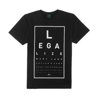 Cayler & Sons t-shirt Legaleyez Tee black / white WL-CAY-AW16-AP-14