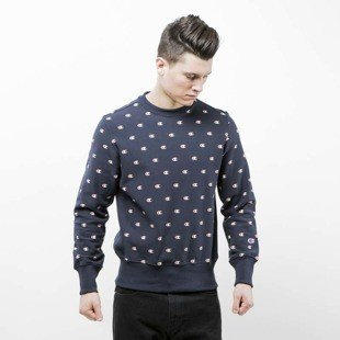 Champion sweatshirt Reverse Weave navy 210757S17-2192