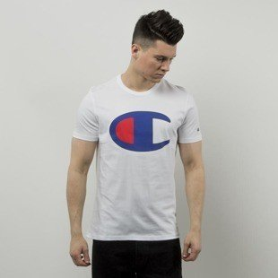 Champion t-shirt Big C white 209768S16-006