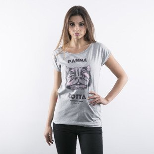 Chrum t-shirt Panna Kotta heather grey