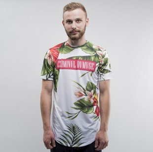 Criminal Damage t-shirt Samo white / multi