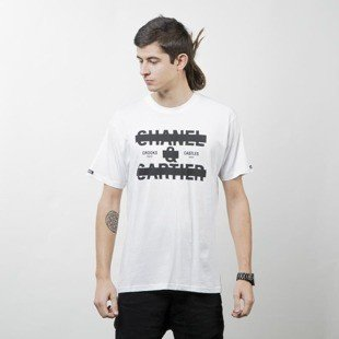 Crooks & Castles Knit Crew T-Shirt Censor white
