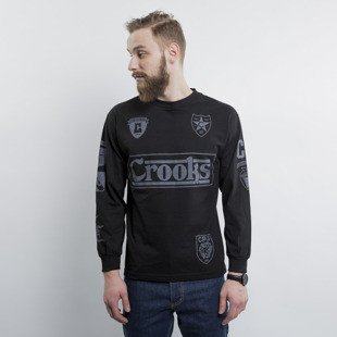 Crooks & Castles Solidier longsleeve black