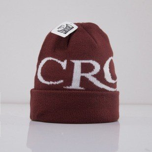 Crooks and Castle winter cap Serif Crooks burgundy