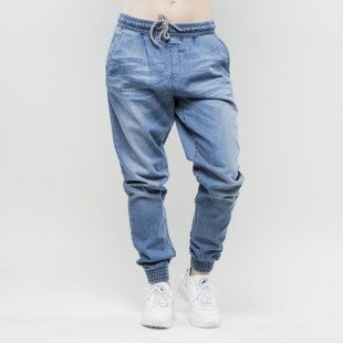 Diamante Wear Jogger Pants Jogger Light blue WMNS