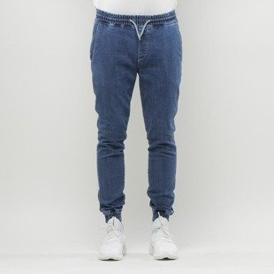Diamante Wear WMNS pants Jogger Jeans marble blue