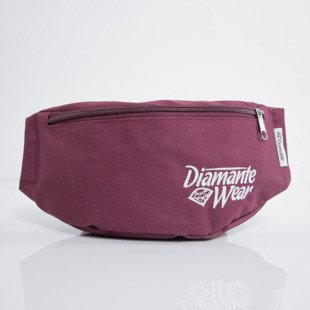 Diamante Wear  hipbag Diamante Wear 2 burgundy / white
