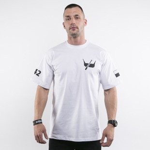 Diamante Wear t-shirt Łódź white