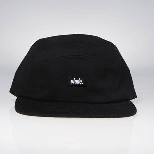 Elade 5 Panel Cap black
