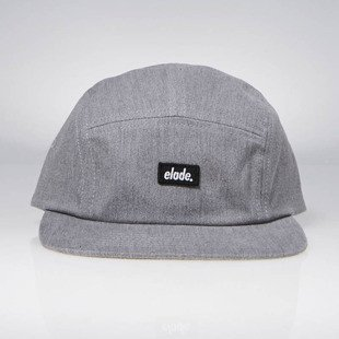 Elade 5 Panel Cap light grey