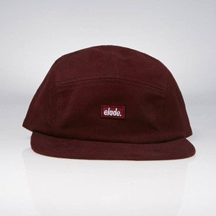Elade 5 Panel Cap mroon