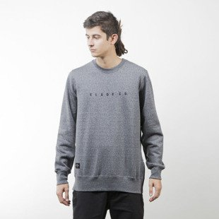 Elade Crewneck Zip Minimal Logo salt and pepper