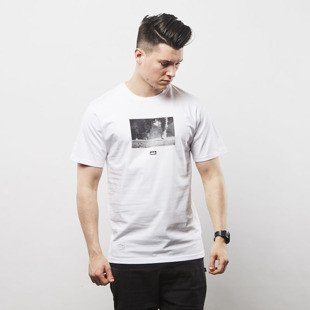 Elade T-shirt Dirty Shoes white