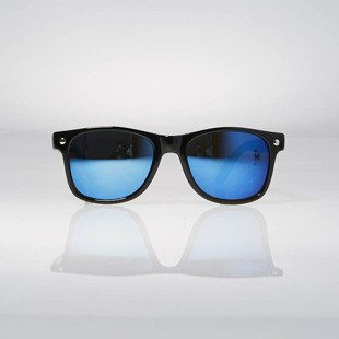 Glassy Sunhaters Sonnenbrille Leonard black blue mirror