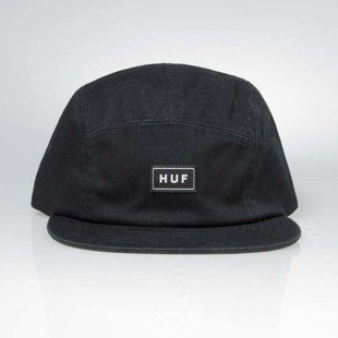 HUF 5-panel Bar Logo Volley black