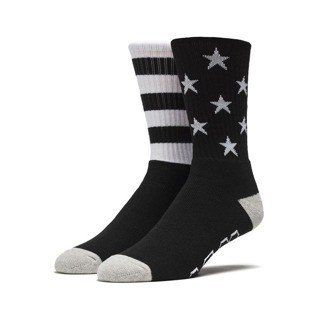 HUF All American Crew Sock black