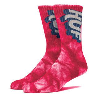 HUF Huf Aid Crew Sock red SK64022