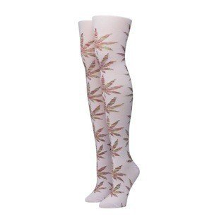 HUF Melange Plantlife Knee High pink / multi (SK63015)
