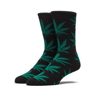 HUF Plante Crew Sock black / green