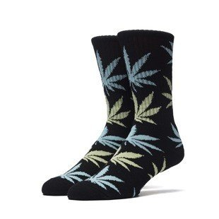 HUF Plantlife Crew Sock black / butter /blue (SK63021)