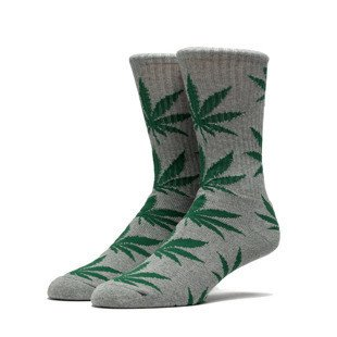 HUF Plantlife Crew Sock grey heather