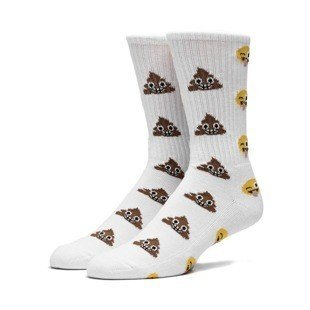 HUF Shit Head Crew Sock white SK64003