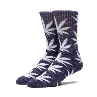 HUF Streaky Plantlife Crew Sock purple/ black / white SK64039