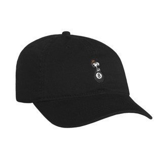 HUF strapback Spike 8 Ball Curved Brim black