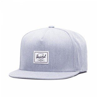 Herschel Dean Snapback Cap heather grey (1081-0348)