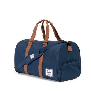 Herschel Novel Duffle navy / tan synthetic leather (10026-00007)