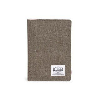 Herschel Raynor Passport Holder canteen crosshatch 10152-01247