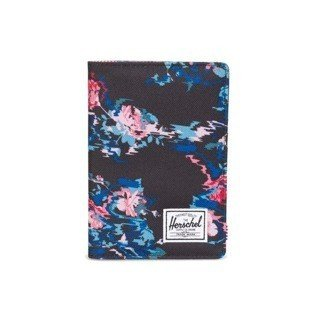 Herschel Raynor Passport Holder floral blur 10152-01262