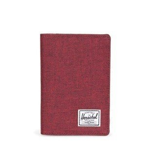 Herschel Raynor Passport Holder wine x 10152-01158