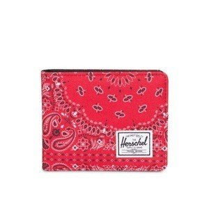 Herschel Roy Wallet red bandana 10069-01249