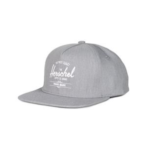 Herschel Whaler Snapback Cap heather grey 1026-0348