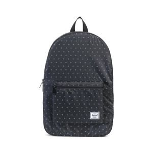 Herschel backpack Packable Daypack black gridlock 10076-01595