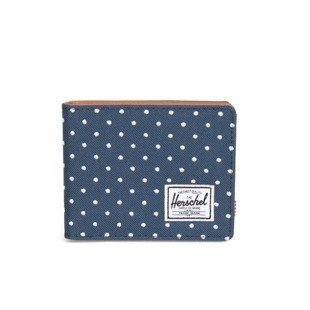 Herschel wallet Hank navy embroidery polka dot (10049-00942)