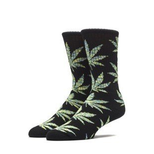 Huf Melange Plantlife Crew Sock black / green