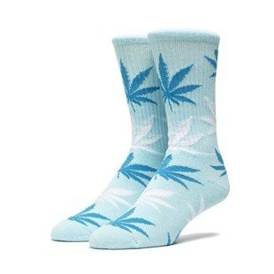 Huf Plantlife Crew Sock ice cube blue