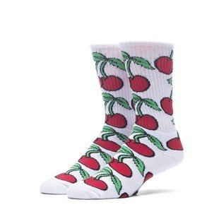 Huf Pop It Crew Sock white