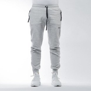 Intruz Sweatpants light heather grey