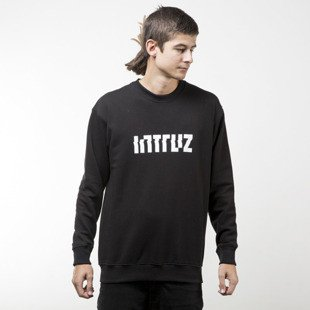 Intruz sweatshirt Logo crewneck black